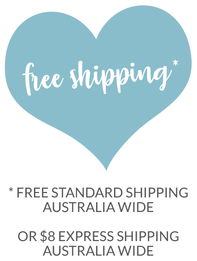 Free Shipping Australia Wide via Regular Post