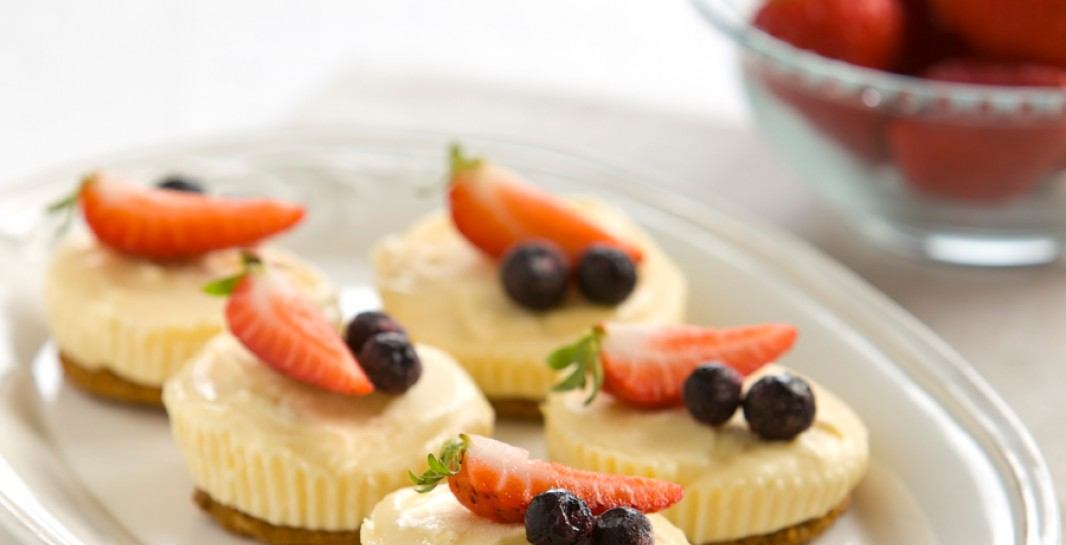 4 Ingredients 2 l Little Cheese Cakes