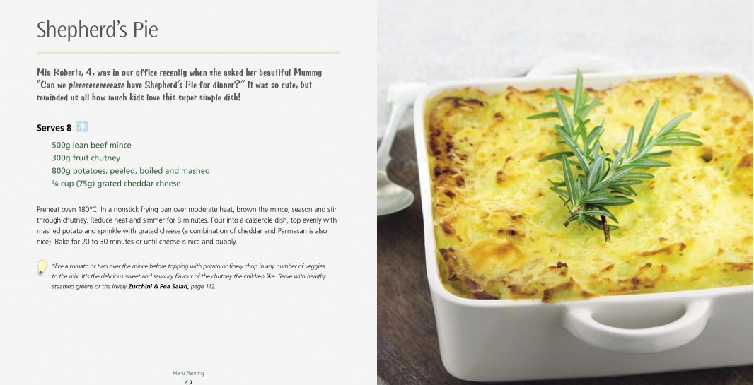 4 Ingredients Menu Planning l Shepherd's Pie