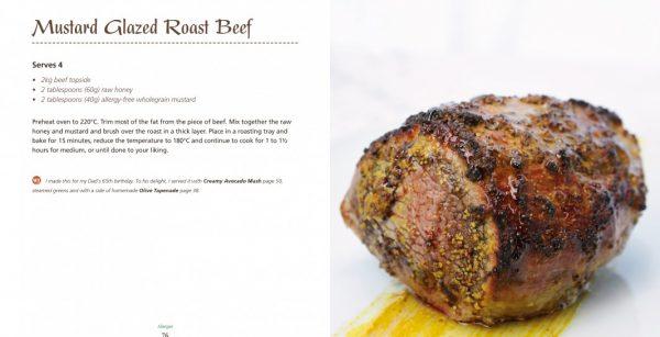 4 Ingredients l Allergies l Mustard Glazed Roast Beef