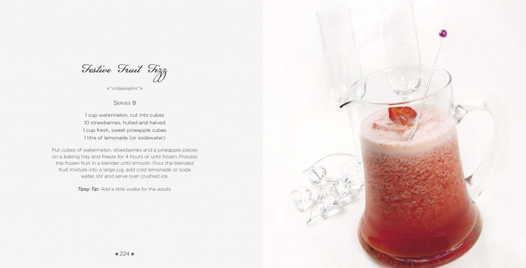 4 Ingredients l Celebrations l Festive Fruit Fizz