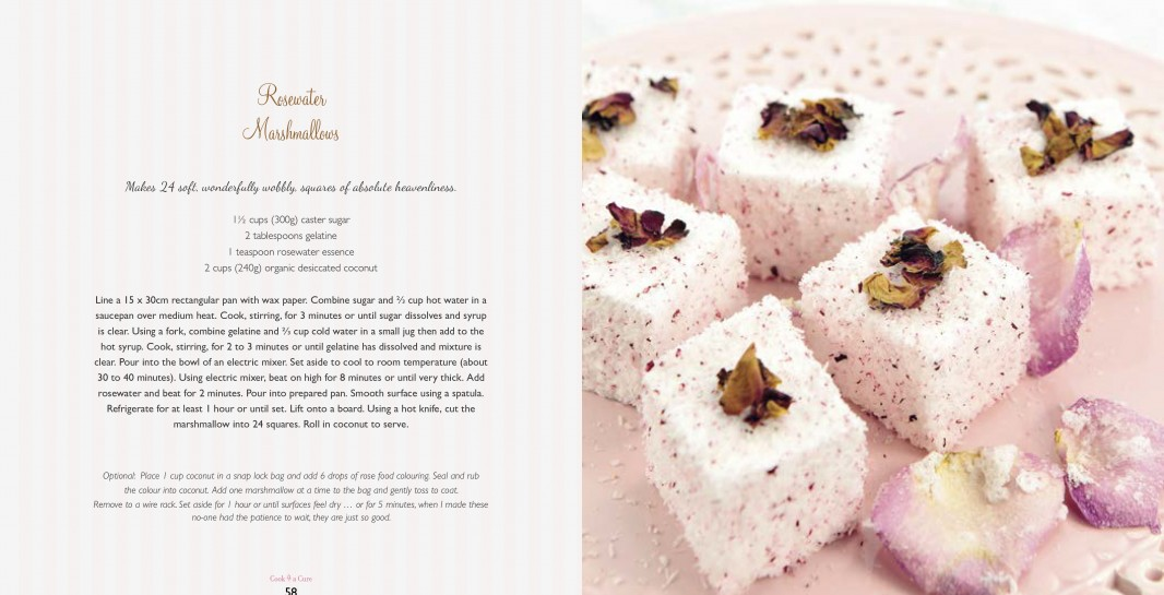 4 Ingredients l Cook 4 A Cure l Rosewater Marshmallows