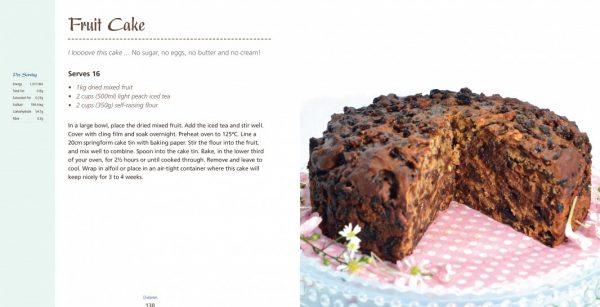 4 Ingredients l Diabetes Fruit Cake