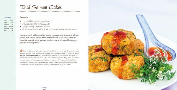 4 Ingredients l Diabetes Thai Salmon Cakes