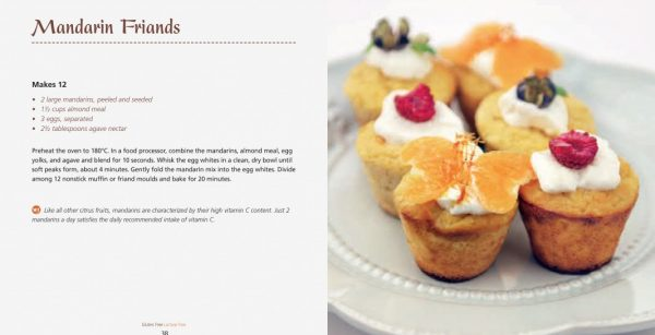 4 Ingredients l Gluten Free Lactose Free l Mandarin Friands
