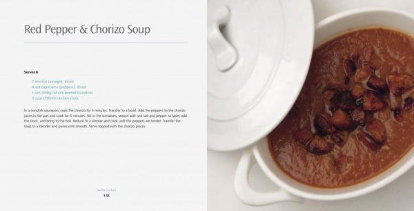 4 Ingredients l One Pot One Bowl l Red Pepper & Chorizo Soup
