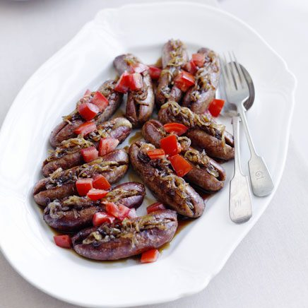 Caramelised Sausages