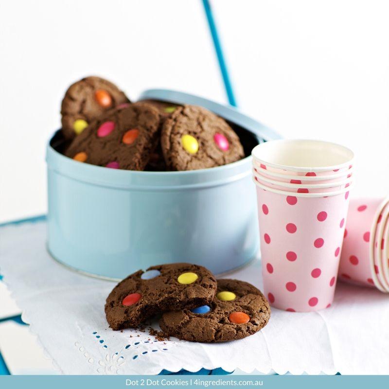 4ING l Recipe Image l Dot 2 Dot Cookies