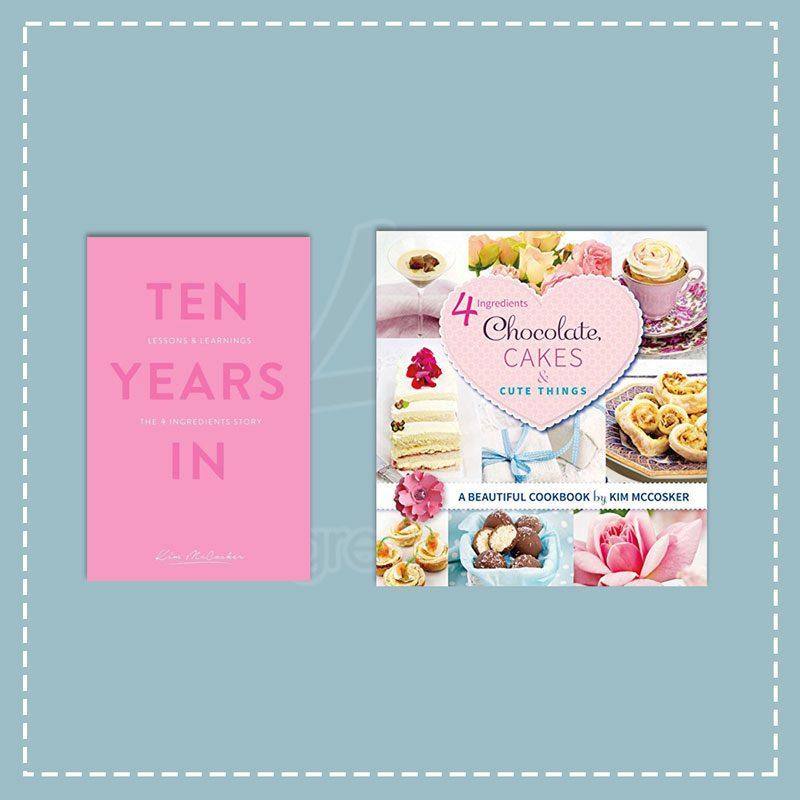 Ten Years In + 4 Ingredients Chocolate, Cakes & Cute Things