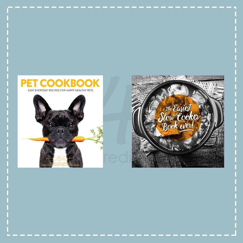 Pet Cookbook + The EASIEST Slow Cooker Book