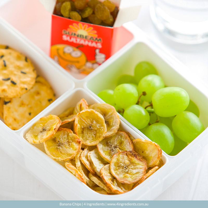 Banana Chips l 4 Ingredients