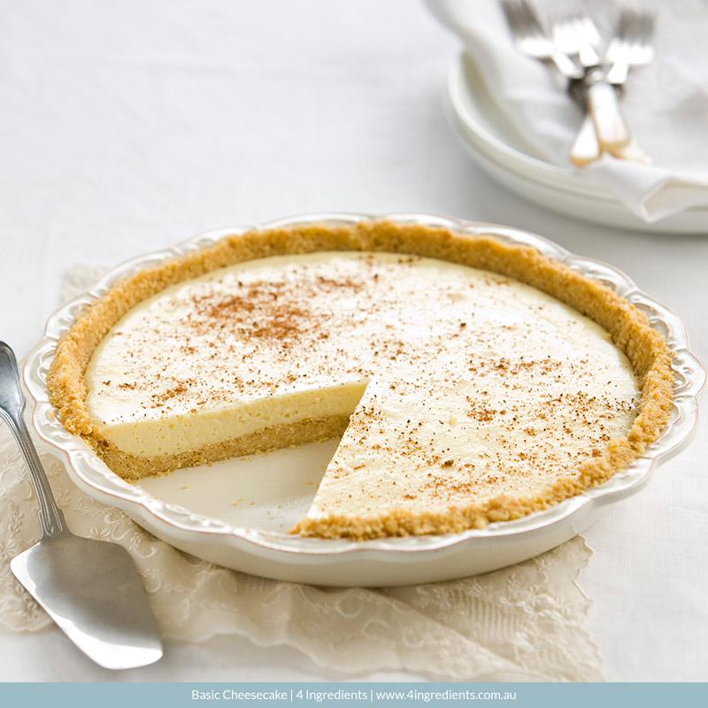 Basic Cheesecake   4 Ingredients