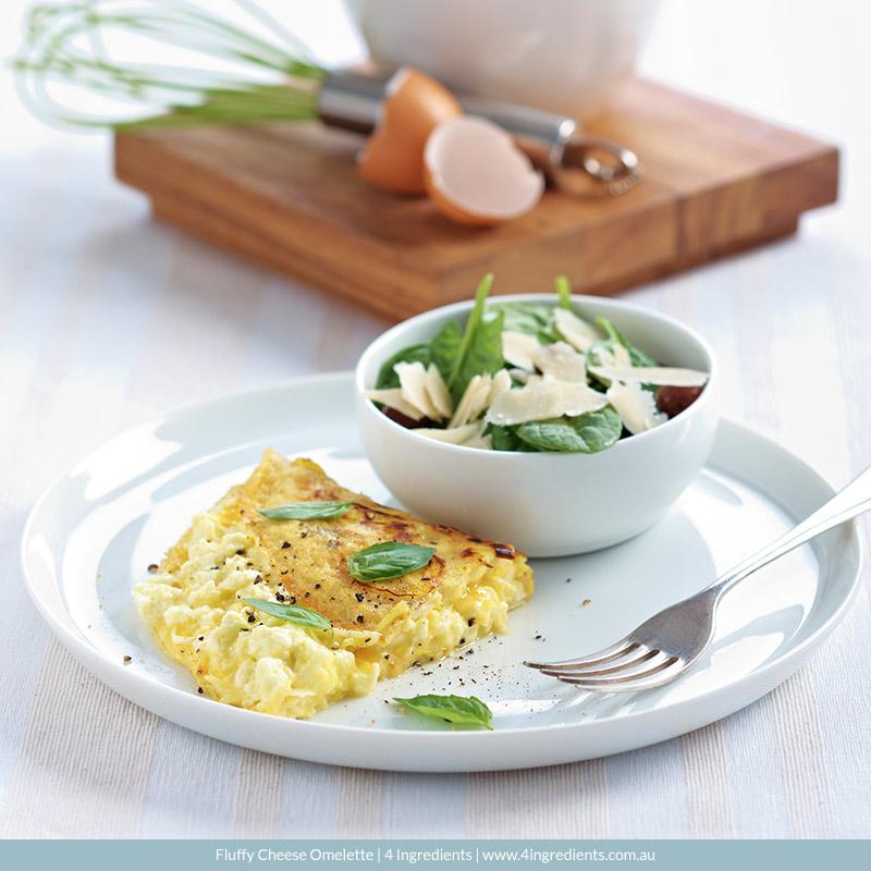Basic Omelette l 4 Ingredients