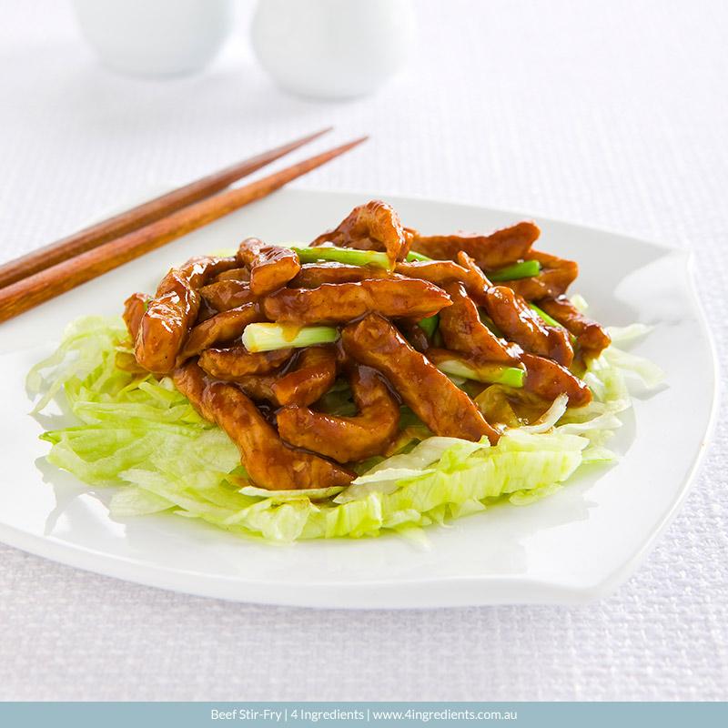 Beef Stir-Fry l 4 Ingredients