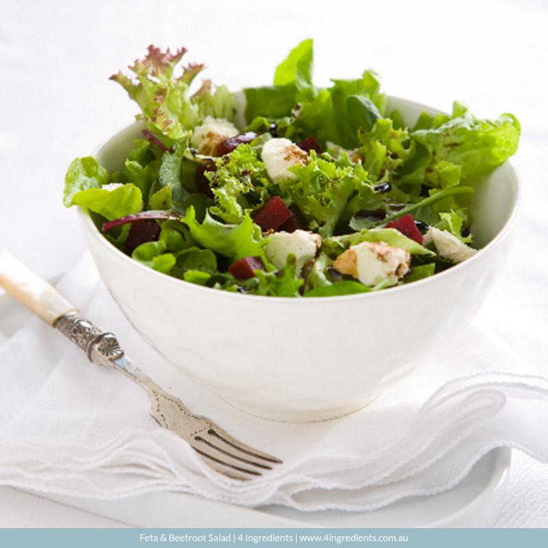 Beetroot & Feta Salad l 4 Ingredients