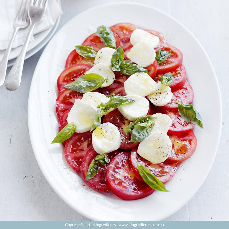Caprese Salad l 4 Ingredients