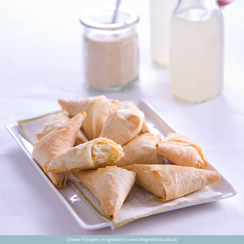 Cheese Triangles l 4 Ingredients