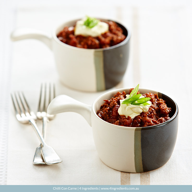 Chilli Con Carne   4 Ingredients