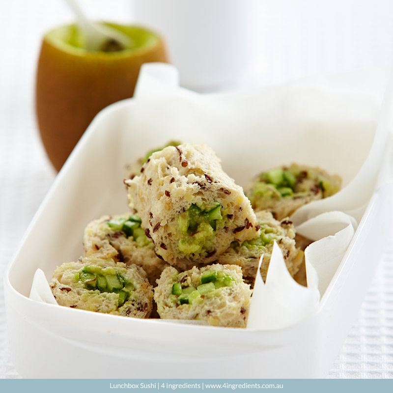 Lunchbox Sushi l 4 Ingredients
