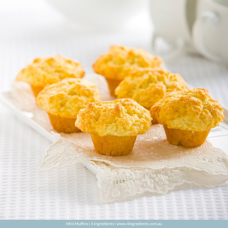 Mini Muffins l 4 Ingredients