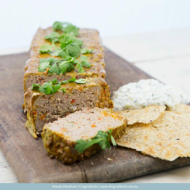 Masala Meatloaf l 4 Ingredients