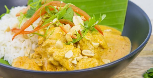 One Pot Cooking l 4 Ingredients l Satay Chicken
