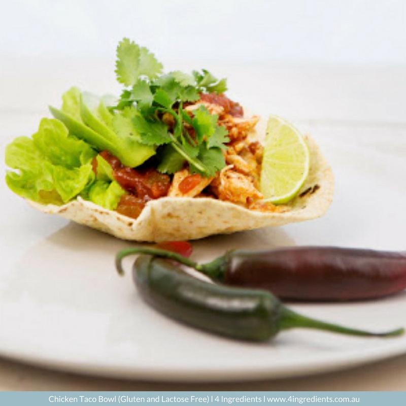 4ING l Chicken Taco Bowl l Gluten Free Lactose Free