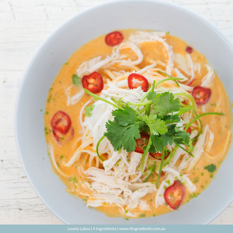 Lovely Laksa l 4 Ingredients l Gluten Free l Lactose Free