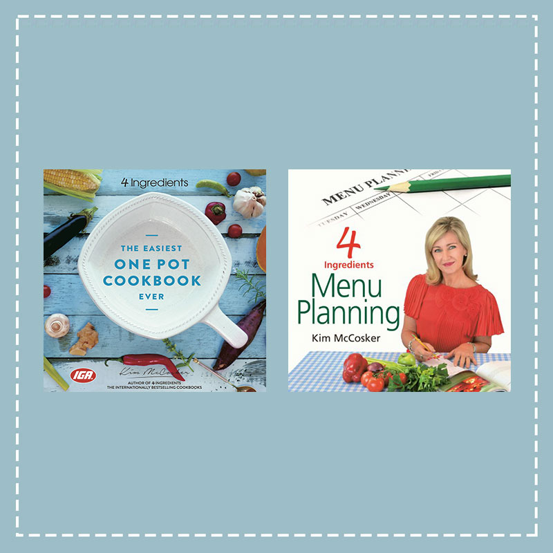 The Easiest One Pot Cookbook + Menu Planning