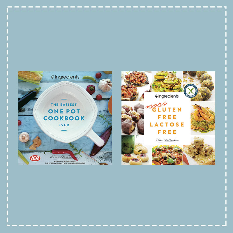 The Easiest One Pot Cookbook Ever + More Gluten Free Lactose Free