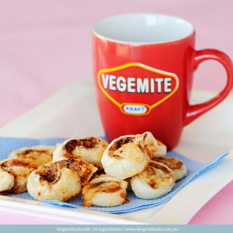 Vegemite Scroll l 4 Ingredients