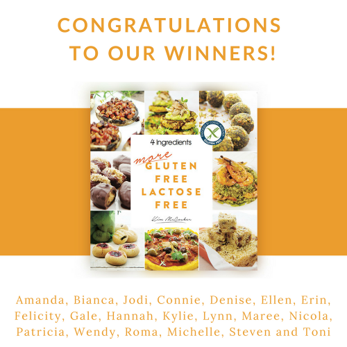 Gluten Free Competition Winners