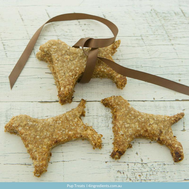 Peanut Butter Pup Treats