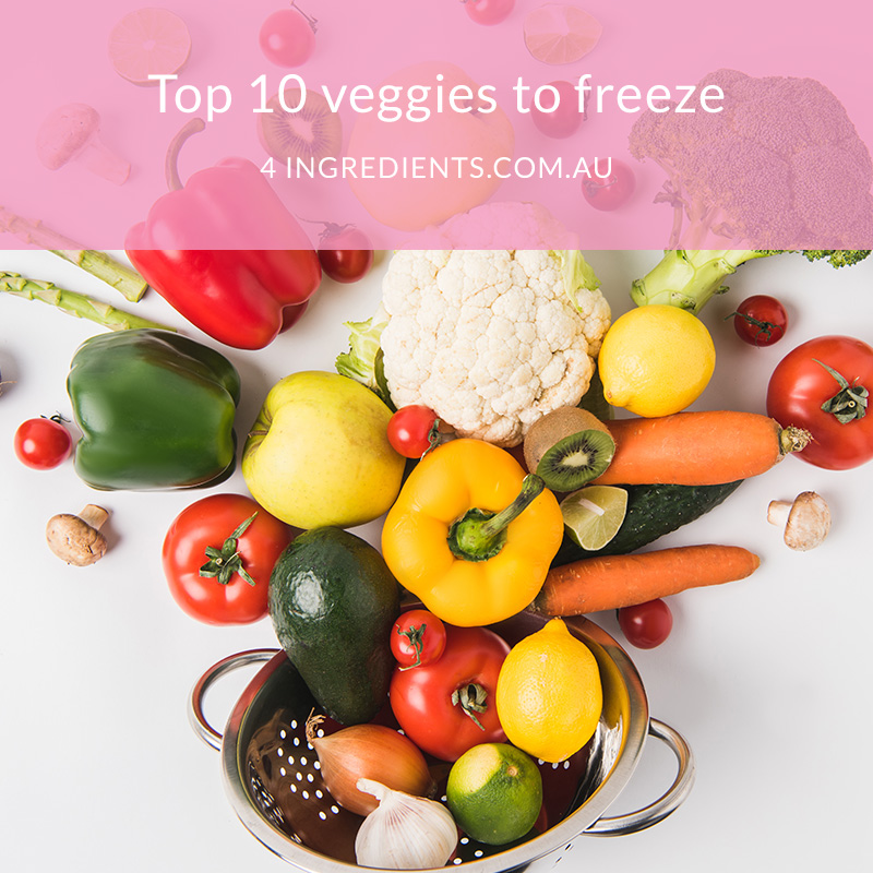 Top 10 Veggies to Freeze