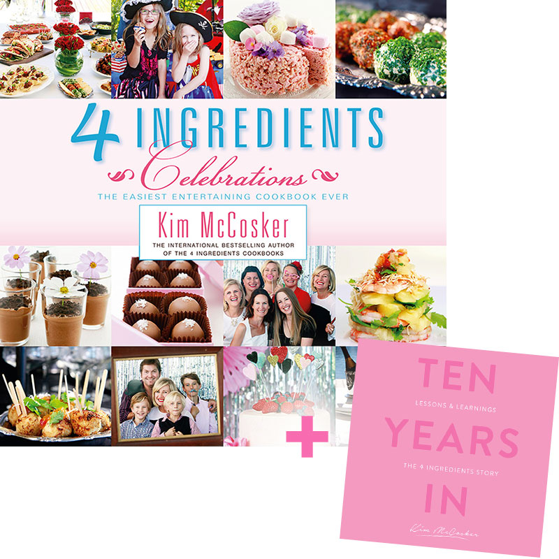 4 Ingredients Celebrations + Free 10 Years In
