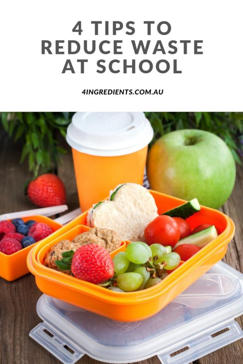 4 practical tips to reduce waste at school