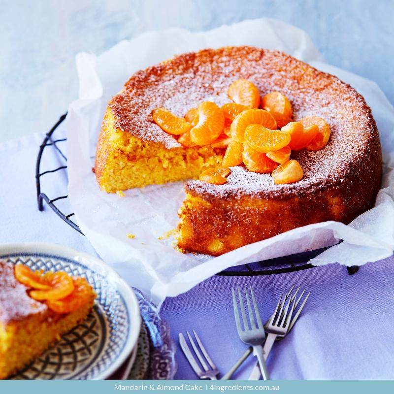 Mandarin & Almond Cake