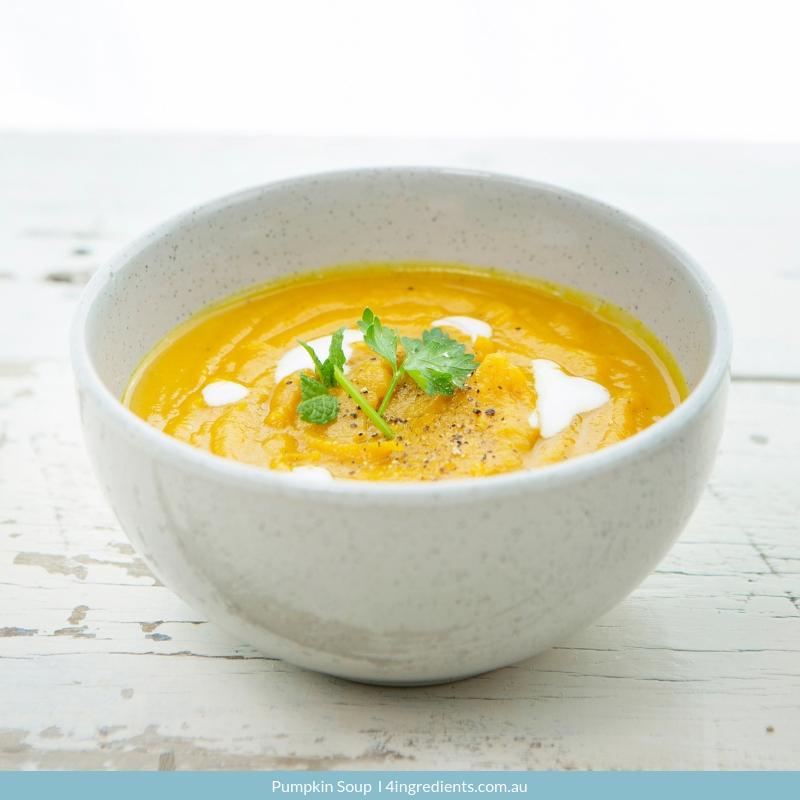 Pumpkin Soup Gluten Free Dinner