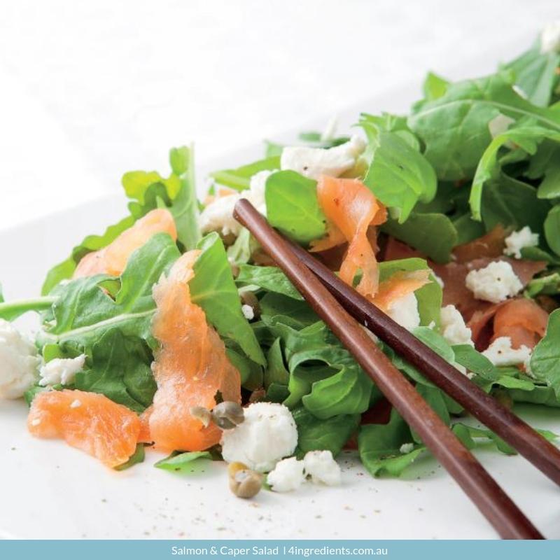 Salmon & Caper Salad