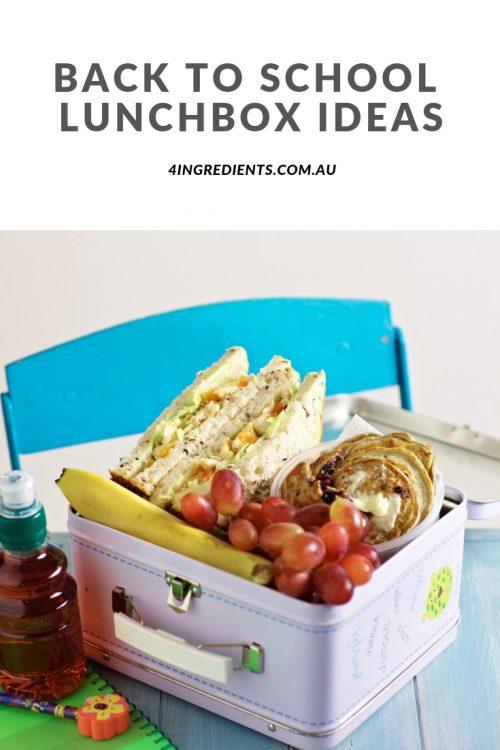 Back to School Lunchbox Ideas!