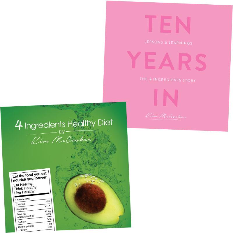 4 Ingredients Healthy Diet & 10 Years In