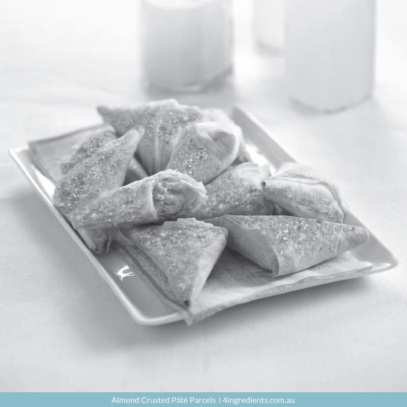 Almond Crusted Pâté Parcels