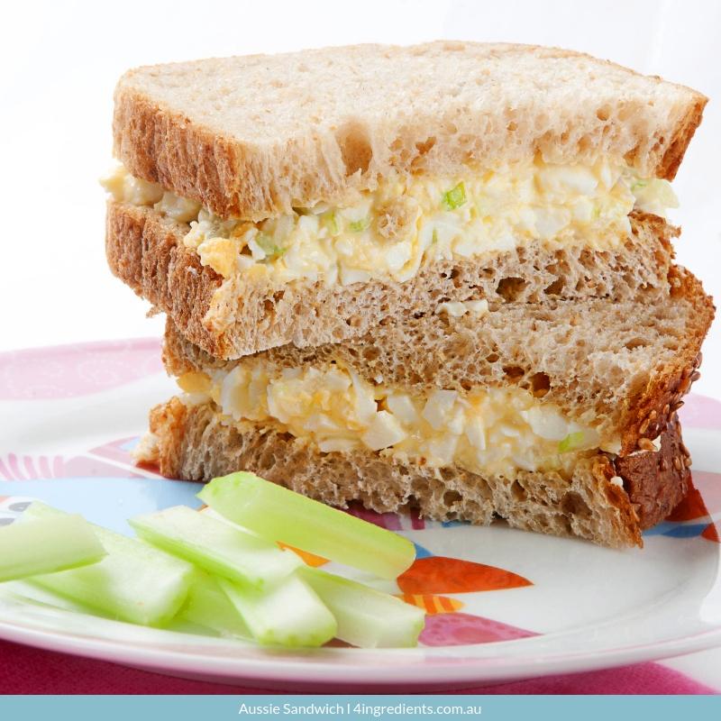 Aussie Sandwich easy lunch