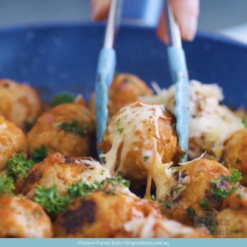 Chicken Parmy Balls