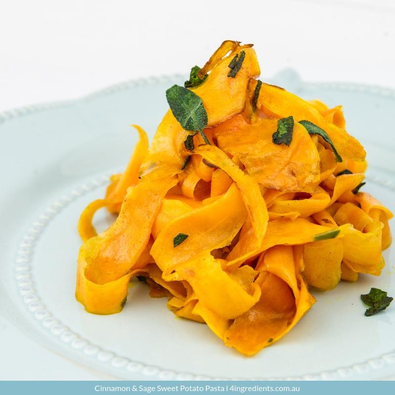 Cinnamon & Sage Sweet Potato Pasta