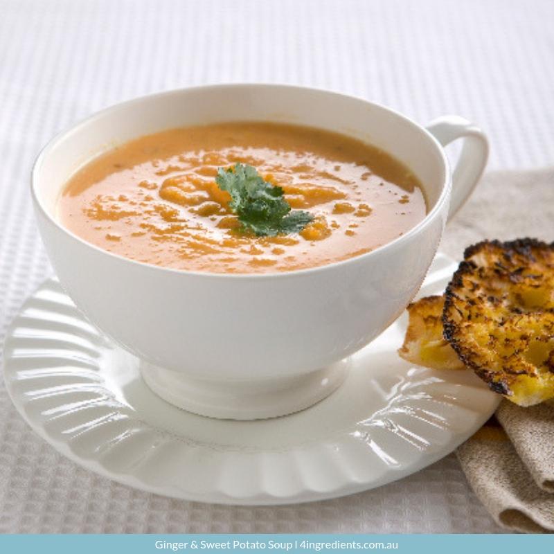 Ginger & Sweet Potato Soup