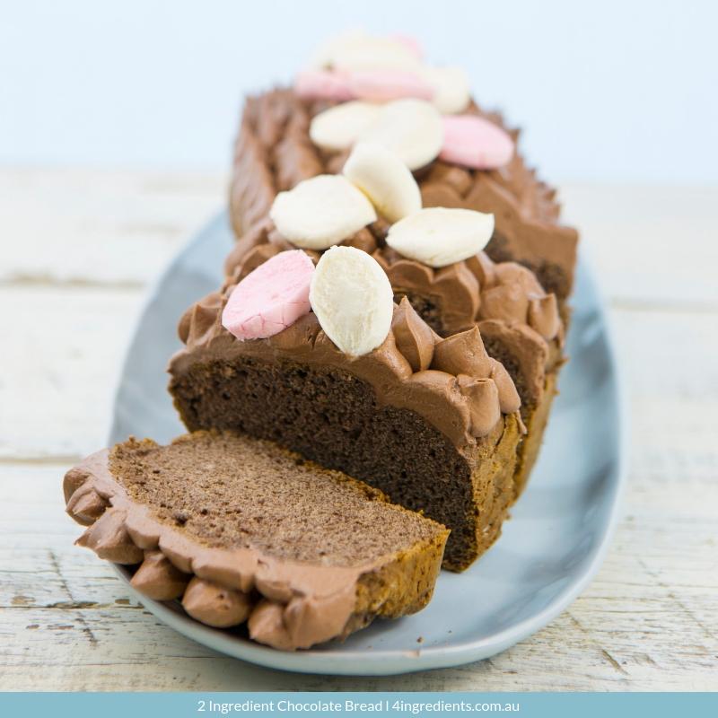 2 Ingredient Chocolate Bread