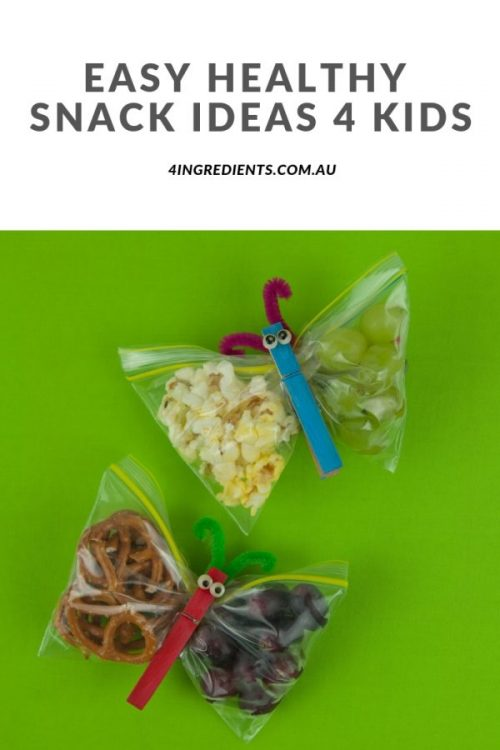 Easy Healthy Snack Ideas for Kids
