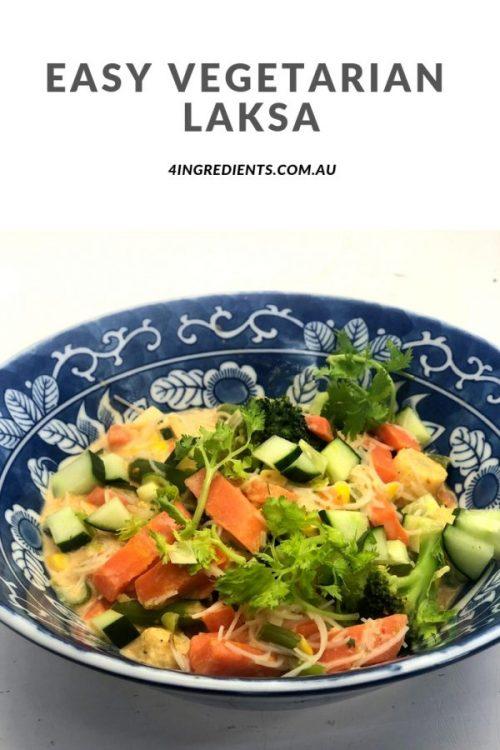 Easy Vegetarian Laksa