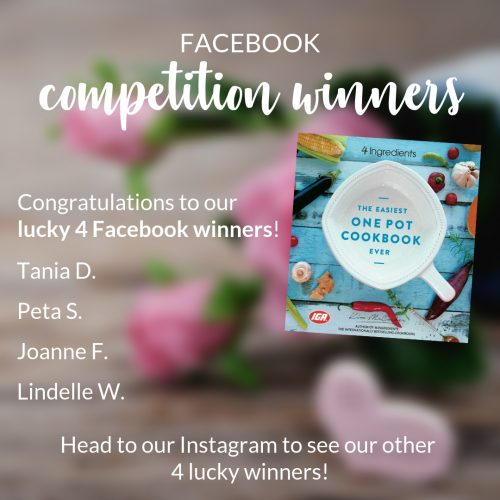One Pot winners Facebook